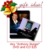 "Any ""Anthony Burger""  DVD & CD for $25"