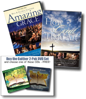 Amazing Grace & How Great Thou Art DVD Set Plus Bonus